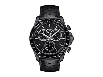 Tissot V8 Quartz Chronograph T1064173605100 (Silver/Black) Watches