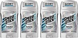 Speed Stick Power Antiperspirant Deodorant, Ultimate Sport 3 oz (Pack of 4)