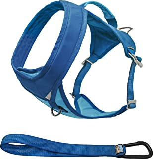 Kurgo Go-Tech Adventure Dog Harness   Running Harness for Dogs   Easy On & Off Pet Harness   Reflective Dog Harness Ideal for Running, Hiking, & Walking   Front & Back Leash Ring   Control Handle