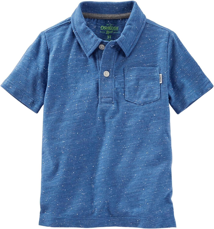 OshKosh B'Gosh Boys' Knit Polo Henley 31061318