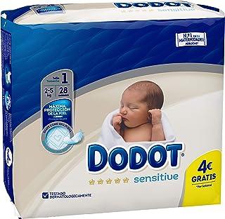 Dodot Protection Sensitive Pañales Talla 1 - 28 Unidades