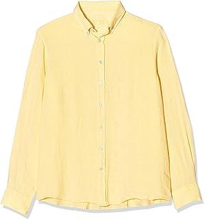 Hackett London Garment Dye Ln BS Camisa para Hombre