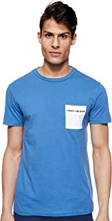 Tommy Jeans Men's Tjm Contrast Pocket T-Shirt