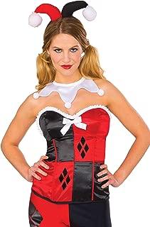 Rubie's Costume Co Women's Corset, Harley Quinn