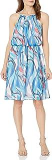 فستان لل نساء مقاس M , احمر - فساتين عملية كاجوال Candy/Ice Blue/Multi 10