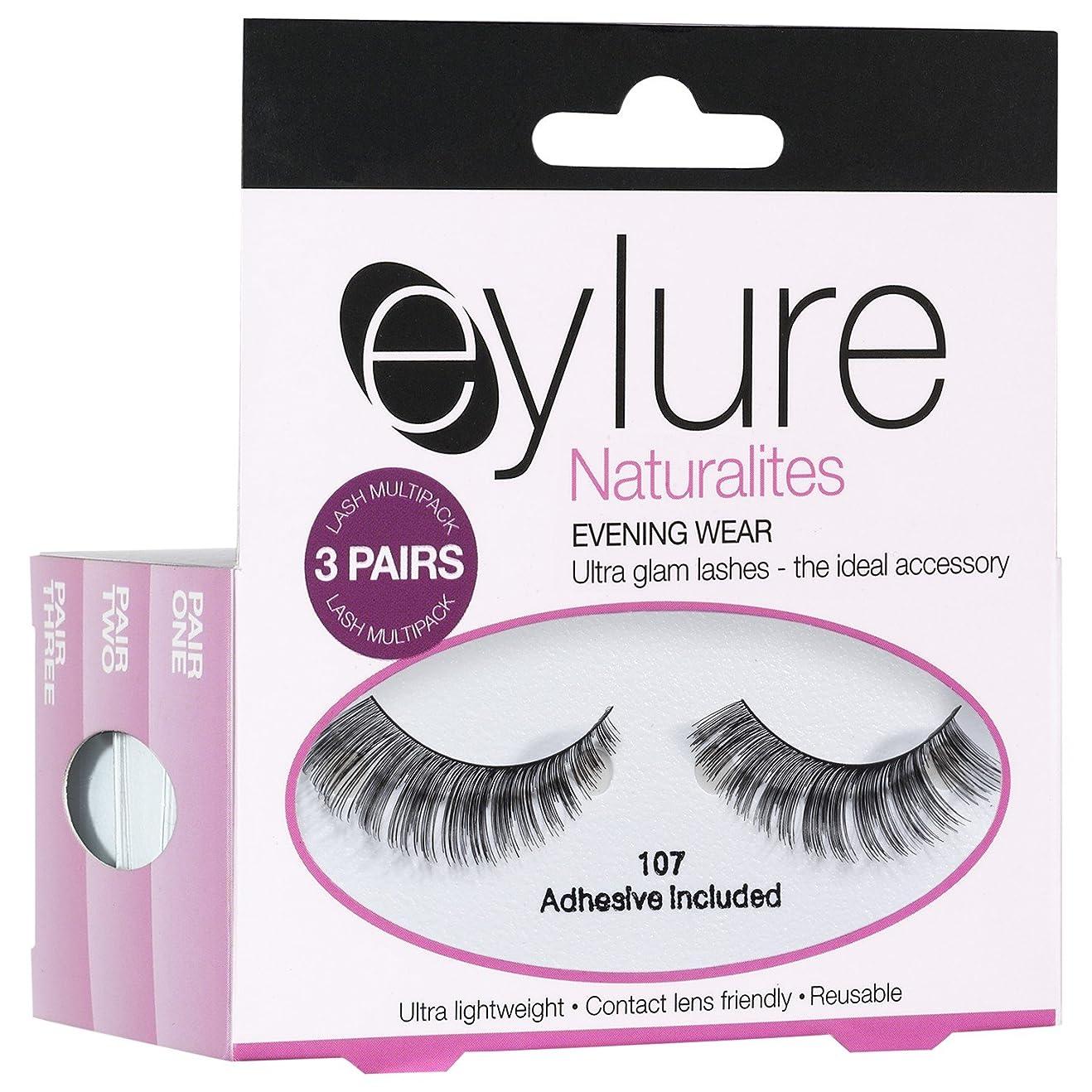 前文財政不合格Eylure Naturalites夕方偽まつげ (Elegant Touch) (x6) - Eylure Naturalites Evening False Eye Lashes (Pack of 6) [並行輸入品]
