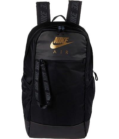Nike Air Essentials Backpack (Black/Black/Metallic Gold) Backpack Bags
