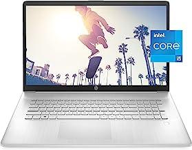 HP 17 Laptop PC, 11th Gen Intel Core i5-1135G7, 8 GB RAM, 512 GB SSD Storage, 17.3-inch Full HD...