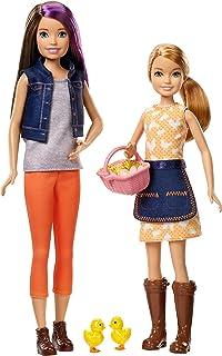 comprar comparacion Barbie GCK85 Sweet Orchard Farm Playset con 2 muñecas, muñeca de patrón y muñeca Stacie, con 2 Pollitos y Cesta de Huevos,...