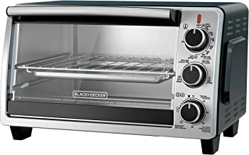 BLACK+DECKER TO1950SBD 6-Slice Convection Countertop Toaster Oven, Includes Bake Pan,..