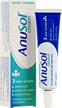 Anusol - Haemorrhoids Treatment Cream - Shrinks Piles, Relieves Discomfort & Soothes Itching - 43g