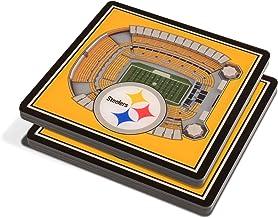 قواعد أكواب 4×4 من يوذا فان NFL ثلاثية الأبعاد فريق ستاد فيوز - مجموعة من 2