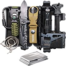 Cool & Unique Fathers Day Birthday Gifts for Him Men Husband Dad Boyfriend, Fun Gadget Mens Gifts Ideas, 11-in-1 Survival ...