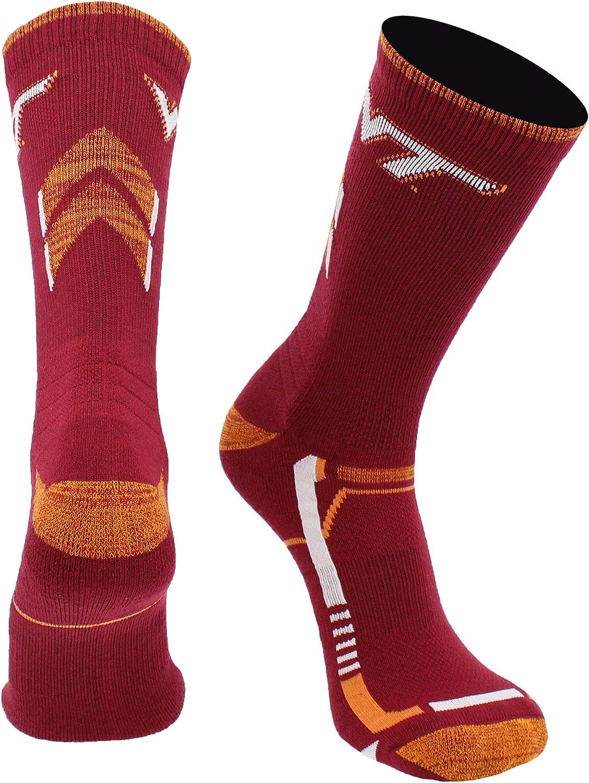 TCK Kansas State Wildcats Socks Kansas State University Wildcats Champion Crew Socks