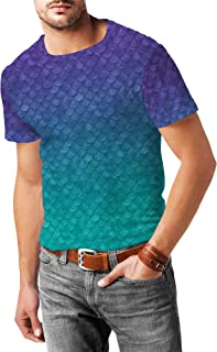 Rainbow Rules Ariel Mermaid Disney Inspired Mens Sport Mesh T-Shirt