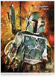 boba fett signed picture