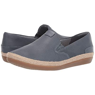 Clarks Danelly Iris (Blue/Grey Leather) Women