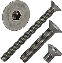 Senkschrauben mit Innensechsrund M4X30 TX20 250 St/ück ISO 14581 A2 Edelstahl rostfrei Senkkopfschraube