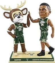 FOCO Giannis Antetokounmpo Milwaukee Bucks high fiving Bobblehead NBA