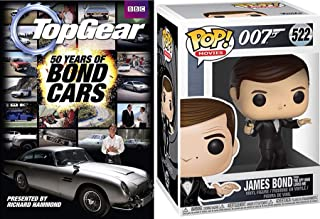 Mission Bond 007 Top Gear Aston Martin Spy Pack James Bond 50 Years of Bond Cars Goldfinger DB5 Gadget Car to Lotus Sub & Pop! Vinyl Figure Character Back