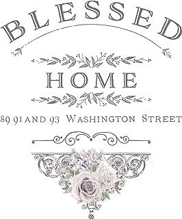 Prima Marketing 655350632861 Blessed Home Redesign Transfer, Multicolor