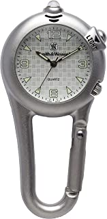 Smith & Wesson, SWW-36-SLV Cariber Classic- LED Light, Watch, Silver