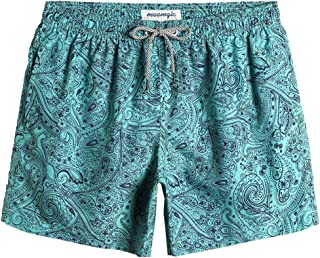 MaaMgic Men's Swimming Trunks Quick Dry Bathing Suit Fit Performance Beach Surfing Short Pockets