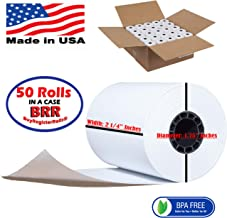 2 1/4 85 ft paper for verifone vx 680 thermal paper rolls works with Ingenico iCT200, Ingenico iCT 220, Ingenico iCT250, Ingenico iWL255, Ingenico iWL252, Ingenico BIO930