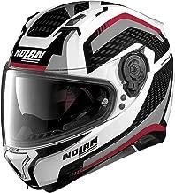 Nolan N87 Arkad Motorcycle Helmet Metallic White XL