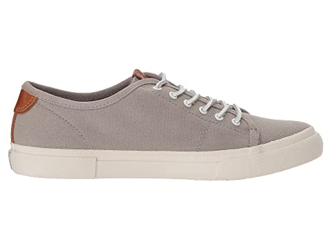 2018 Newest Online Frye Maya Canvas Low Lace Grey Cheap Sale Pre Order Cheap Very dnMZva2p0