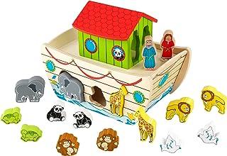 KidKraft 63244 Former för sortering Noaks ark, färgglada