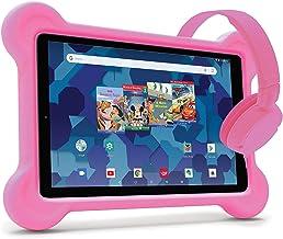 $109 » RCA Android Tablet Bundle (10″ Tablet, Audio Books, Bumper Case, Headphones) – Disney Edition (Pink)