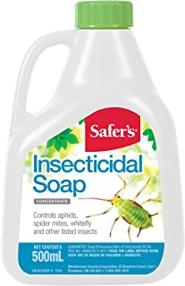 Safer's 01-2022CAN Safer's 01-2022CAN Insecticidal Soap 500mL Concentrate