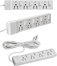 SaleOn™ 4+1 Spike Guard with Individual Easy Switch and Led Light Indicator (6 Feet Cable Length)-299