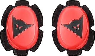 Dainese Motorcycle Knee Slider, Fluo-Red/Black, Size N