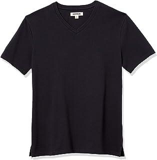 Amazon Brand - Goodthreads Men's Heavyweight Oversized Short-Sleeve V-Neck T-Shirt