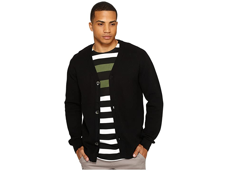 Publish Aydyn Full Fashion Knit Sweater (Black) Men