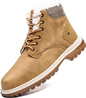 أحذية رجالية شتوية مضادة للانزلاق ومقاومة للماء مناسبة للتنزه في الهواء الطلق أحذية شتوية من فيجينريست