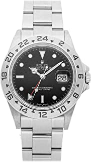 Explorer II Mechanical (Automatic) Black Dial Mens Watch 16570 (Certified Pre-Owned)