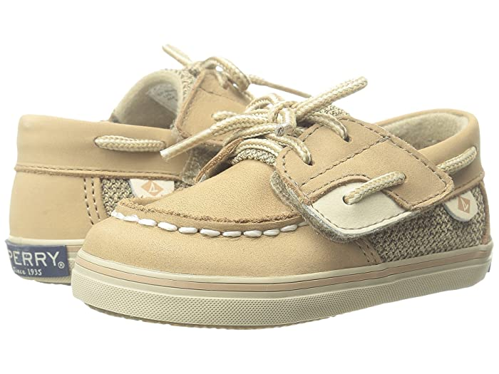 Sperry Kids Bluefish Crib Jr. (Infant/Toddler) (Linen) Girl's Shoes