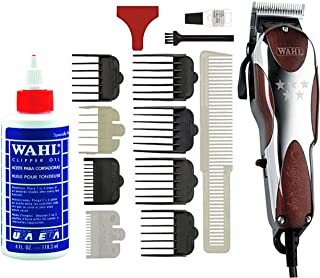 Wahl Professional 5-Star Magic Clip #8451 – Great for Barbers and Stylists – Precision Fade Clipper with Zero Overlap Adjustable Blades, Variable Taper & Texture Settings (with Clipper Oil)