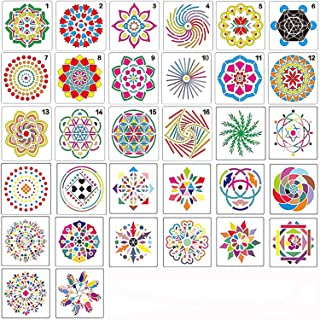 Best mandala border stencil Reviews