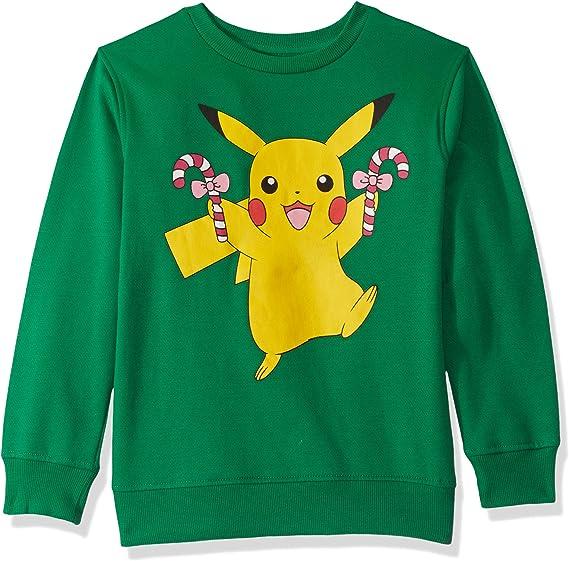 Pokemon Kids Ugly Christmas Crew Sweatshirt
