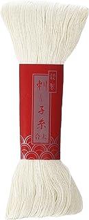 "Sashiko Garn Jumbo-Knäuel, 100 m – Farbe Nr. 102 ""Natur"" – Japanische Quilting & Stickerei"