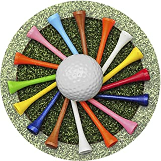 Thirstystone Stoneware Coaster Set, Golf Tees