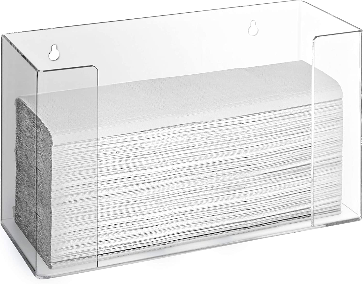 Stock Your Cheap mail order specialty store Very popular Home Acrylic Paper Towel Tow - Folded Dispenser