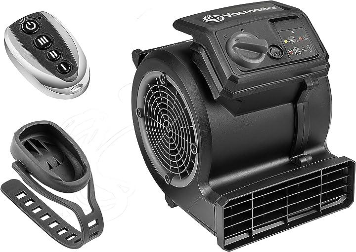 Ventilatore da palestra vacmaster air mover cardio54 da pavimento con telecomando ventilatore da bicicletta B08Z7GX6MD