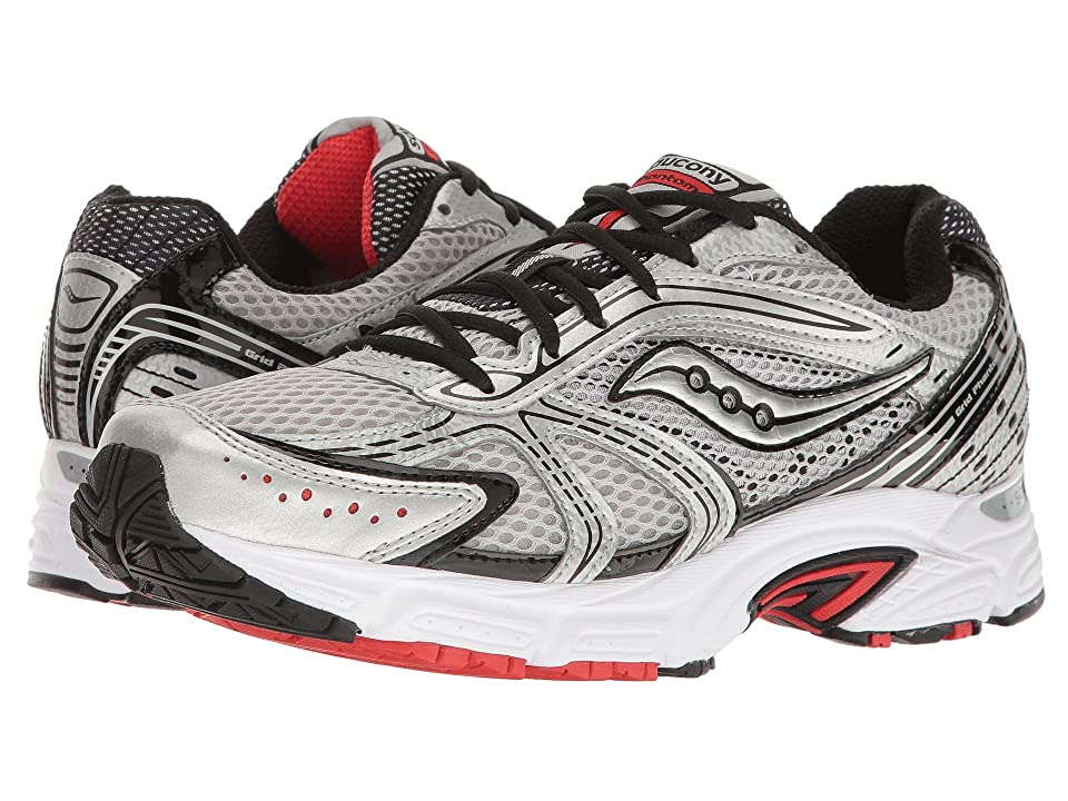 Saucony Grid Phantom (Silver/Black/Red) Men