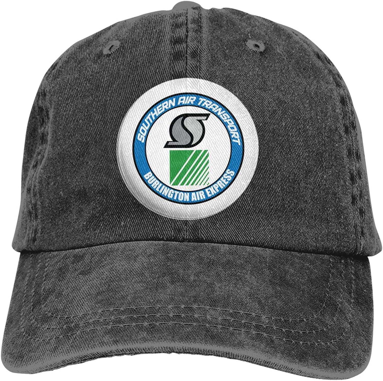 RUIHGK Burlington Air Express Denim Cap Adjustable Casquettes Baseball Cowboy Hat