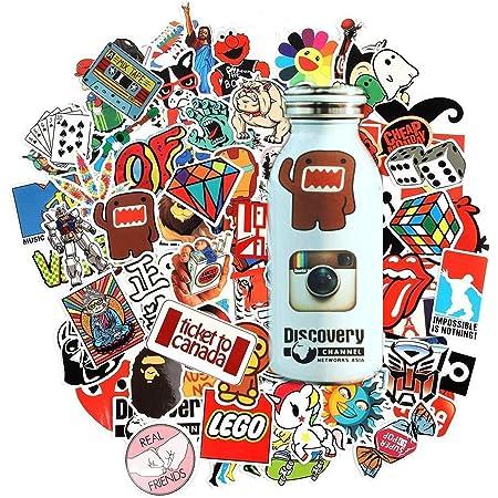 Fridge Trucks Cool Sticker For Cars Laptops Men Of Mayhem Stickers 3 Pcs//Pack Water Bottle